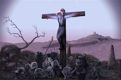 The Crucifixion of Jareth